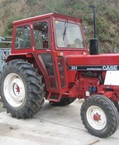 Tractor usado Case internacional
