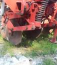 Maquina de siembra directa para maíz,