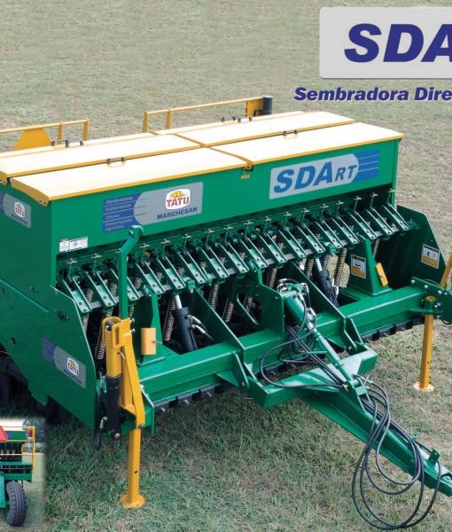 Maquina Siembra directa SDA RT Tatu